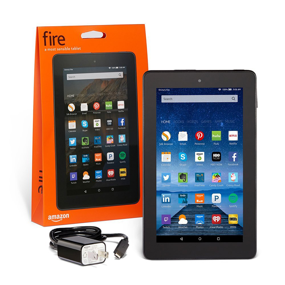 Win an Amazon Fire Tablet!