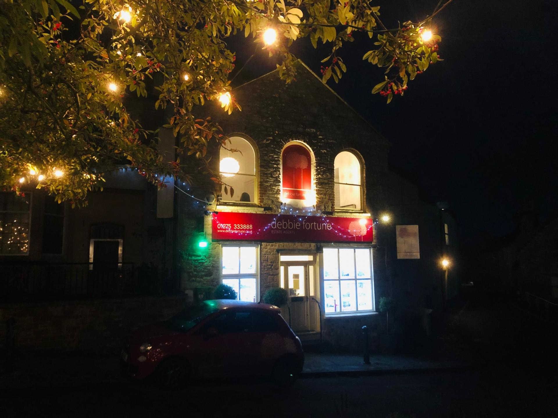 It's beginning to look a lot like Christmas in Chew Magna!