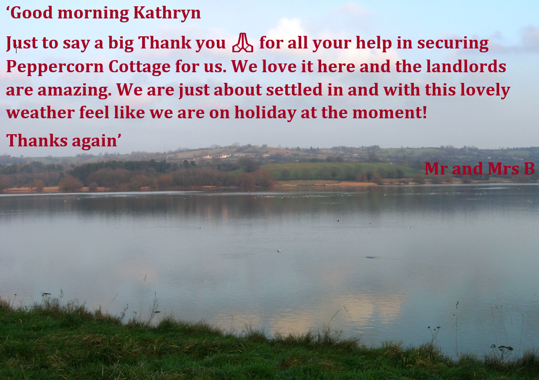 Some great feedback for our Assistant Lettings Manager Kathryn!