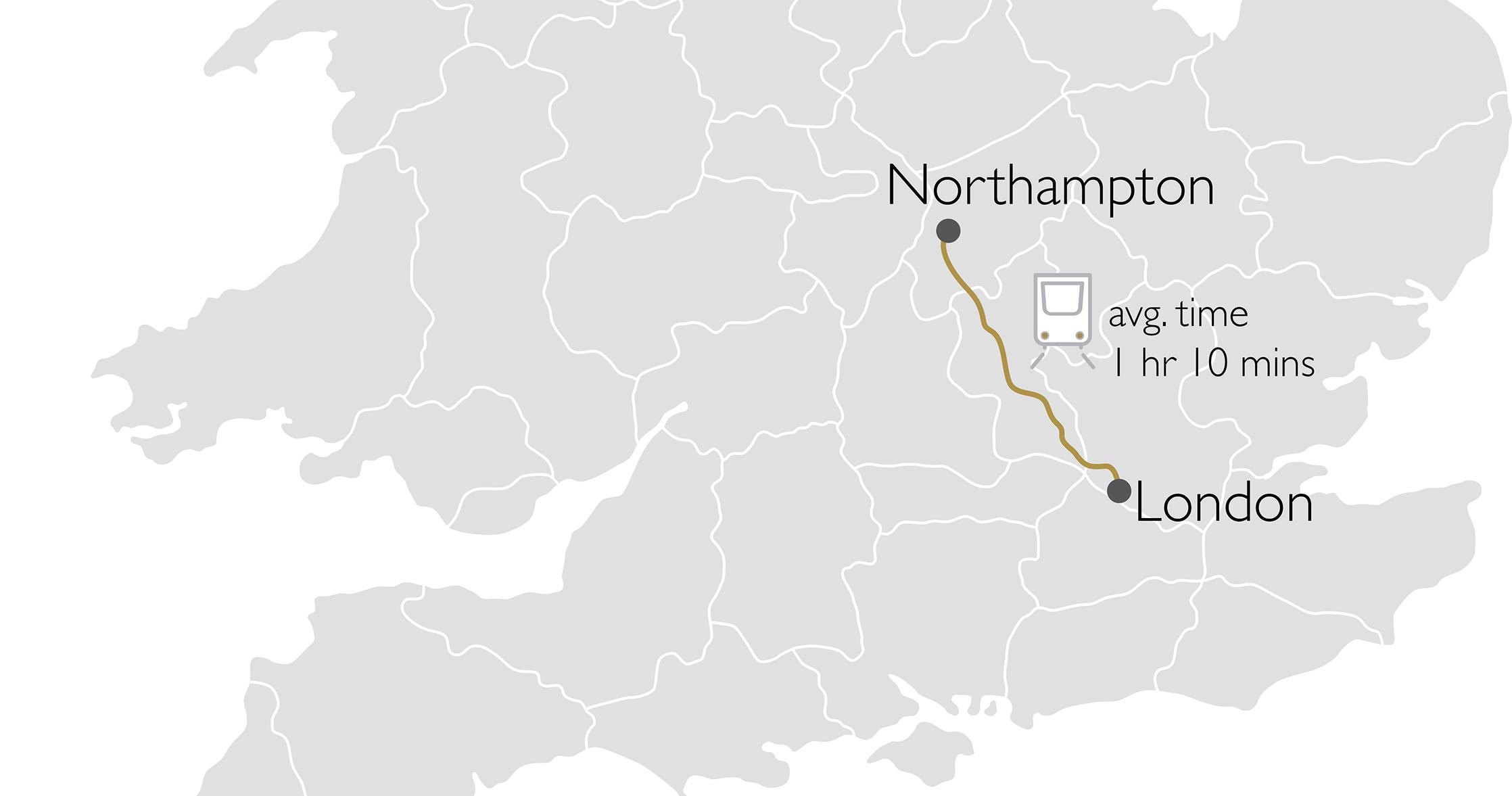 Northampton commute