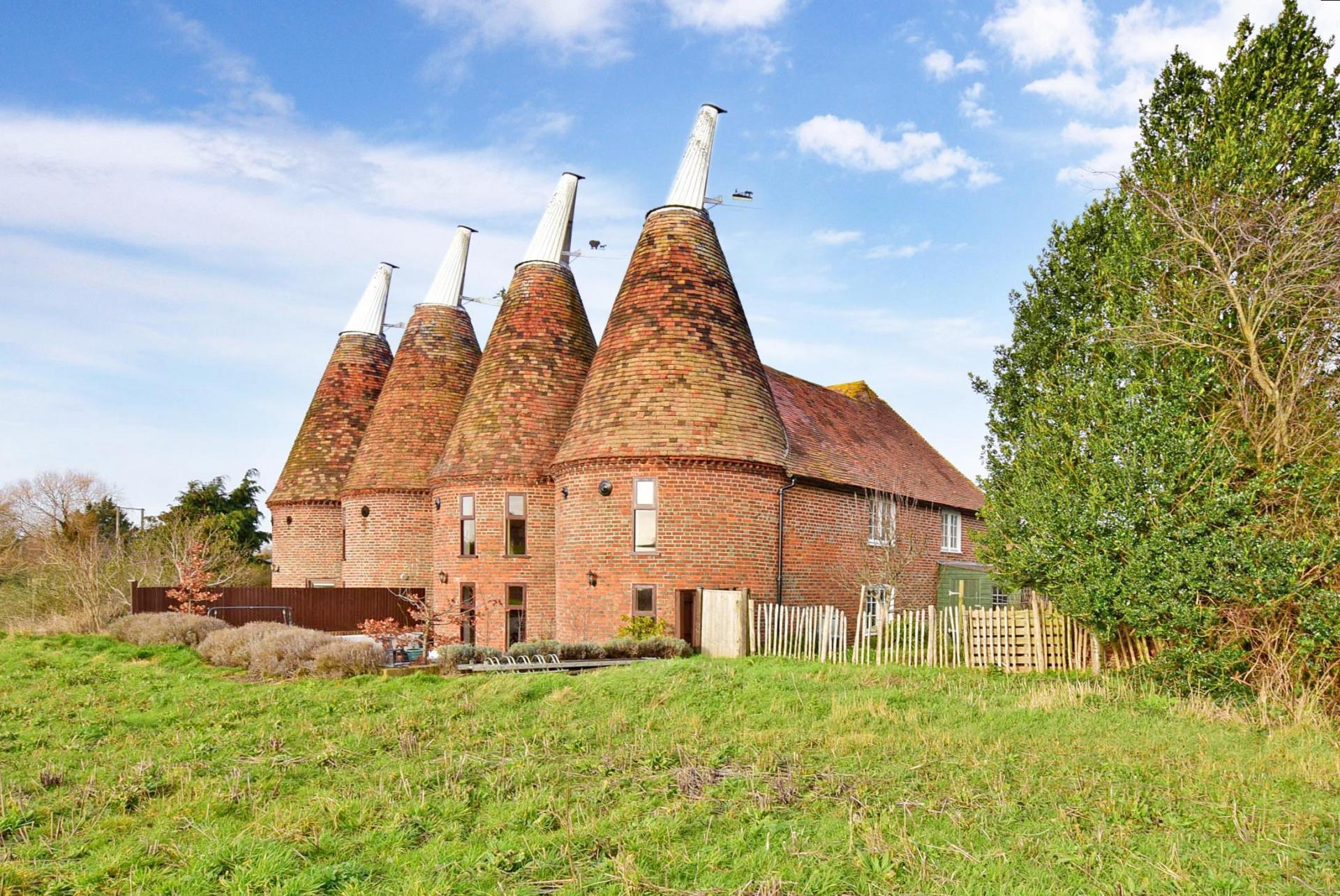 a beautiful Grade II Listed oast house