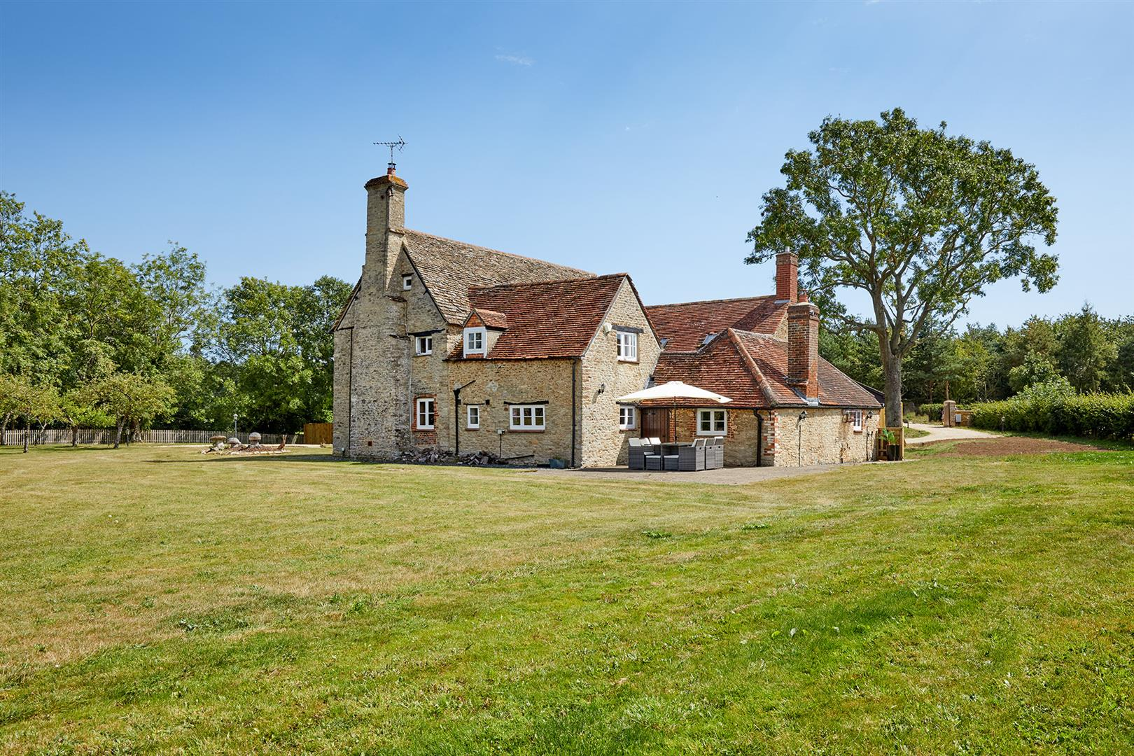 beautiful countryside stone Grade II Listed manor house in Cambridge