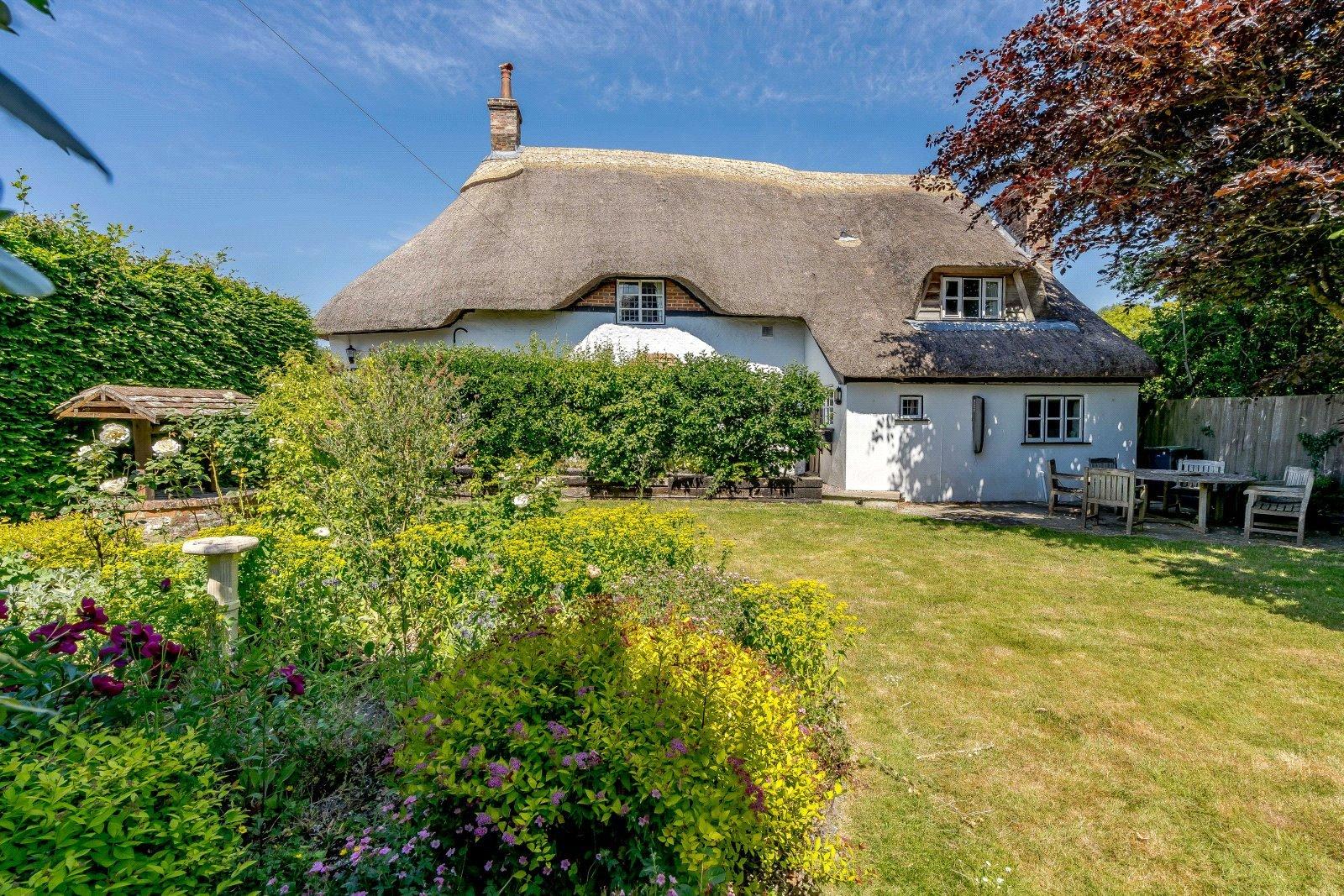 beautiful english thatched cottage