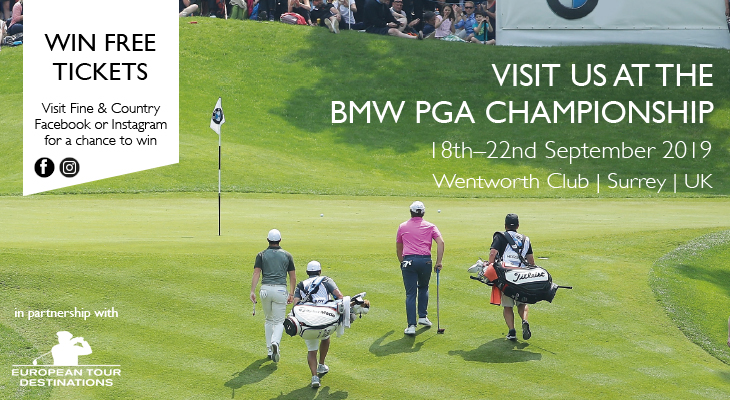 Competition: Win two tickets to the BMW PGA Championship at