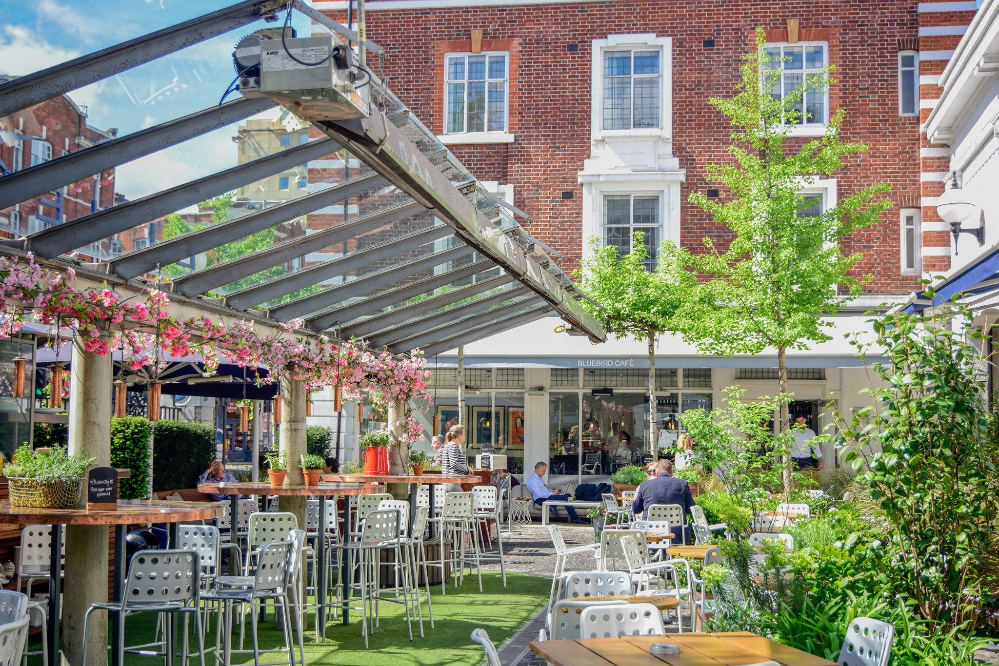 Bluebird Cafe in Chelsea, London