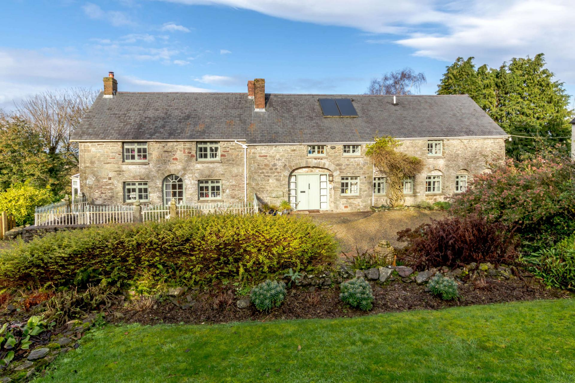 charming stone country cottage