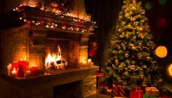 Burning desire: Santa's favourite fireplaces
