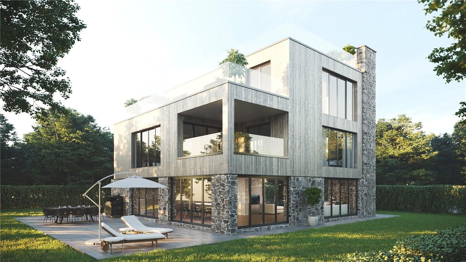 contemporary countryside villa Somerset luxury development