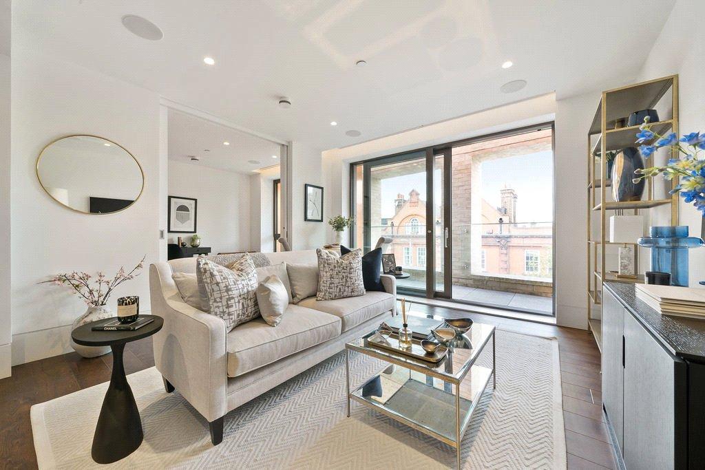 contemporary interior design in Chelsea London apartment