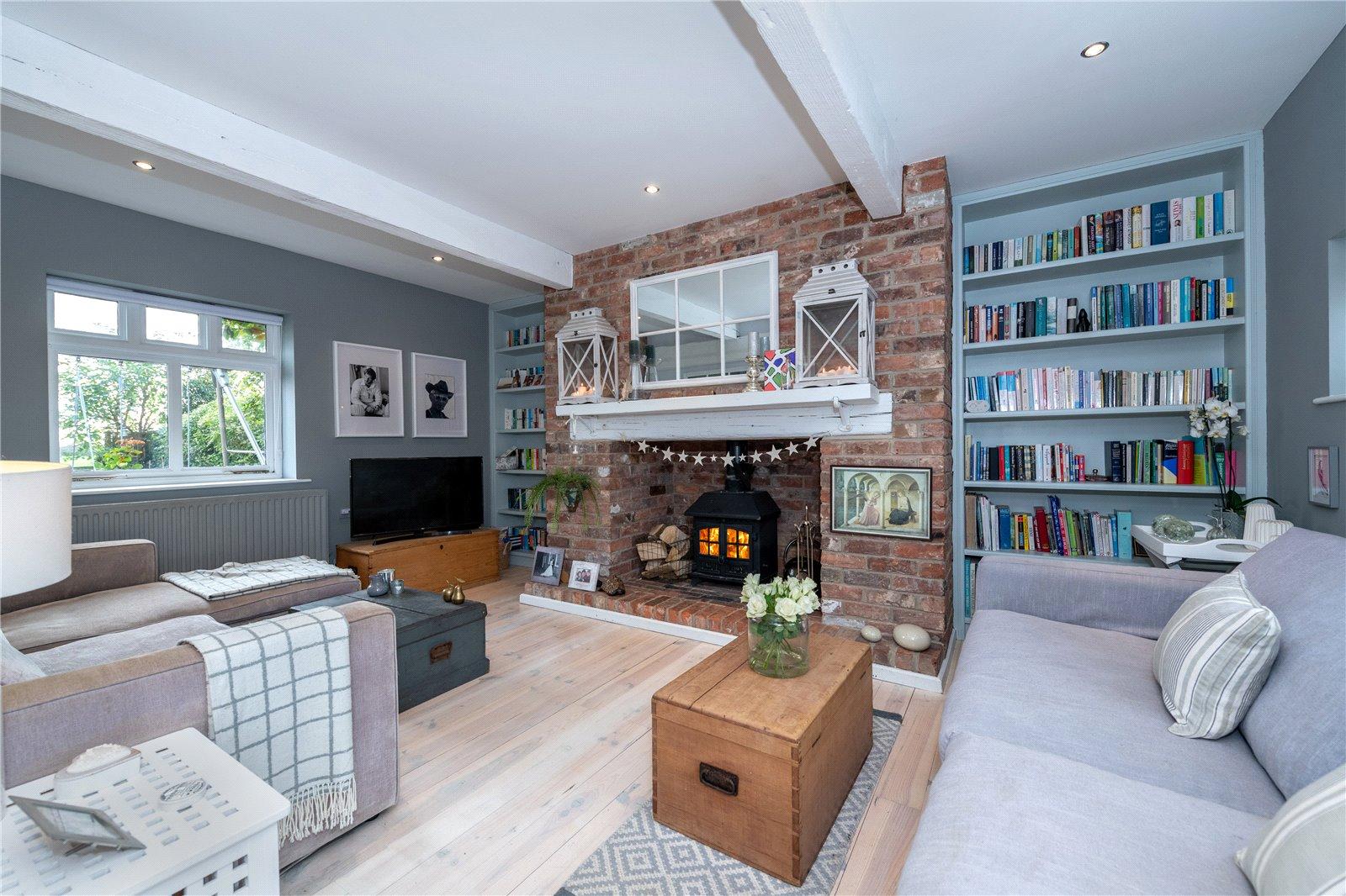contemporary nordic interior design sitting room