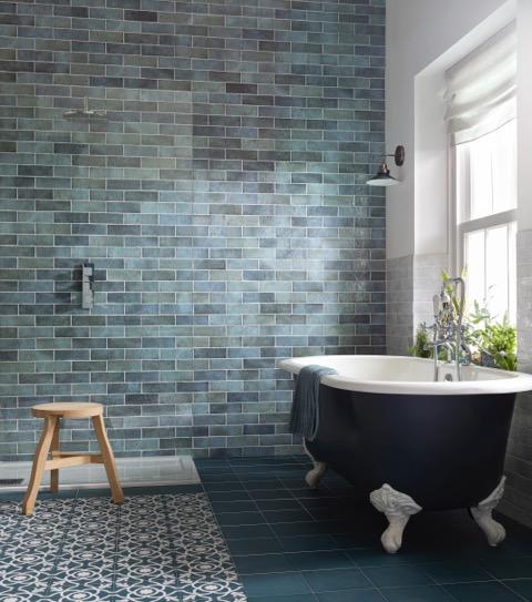 CTD tiles luxury bathroom interiors