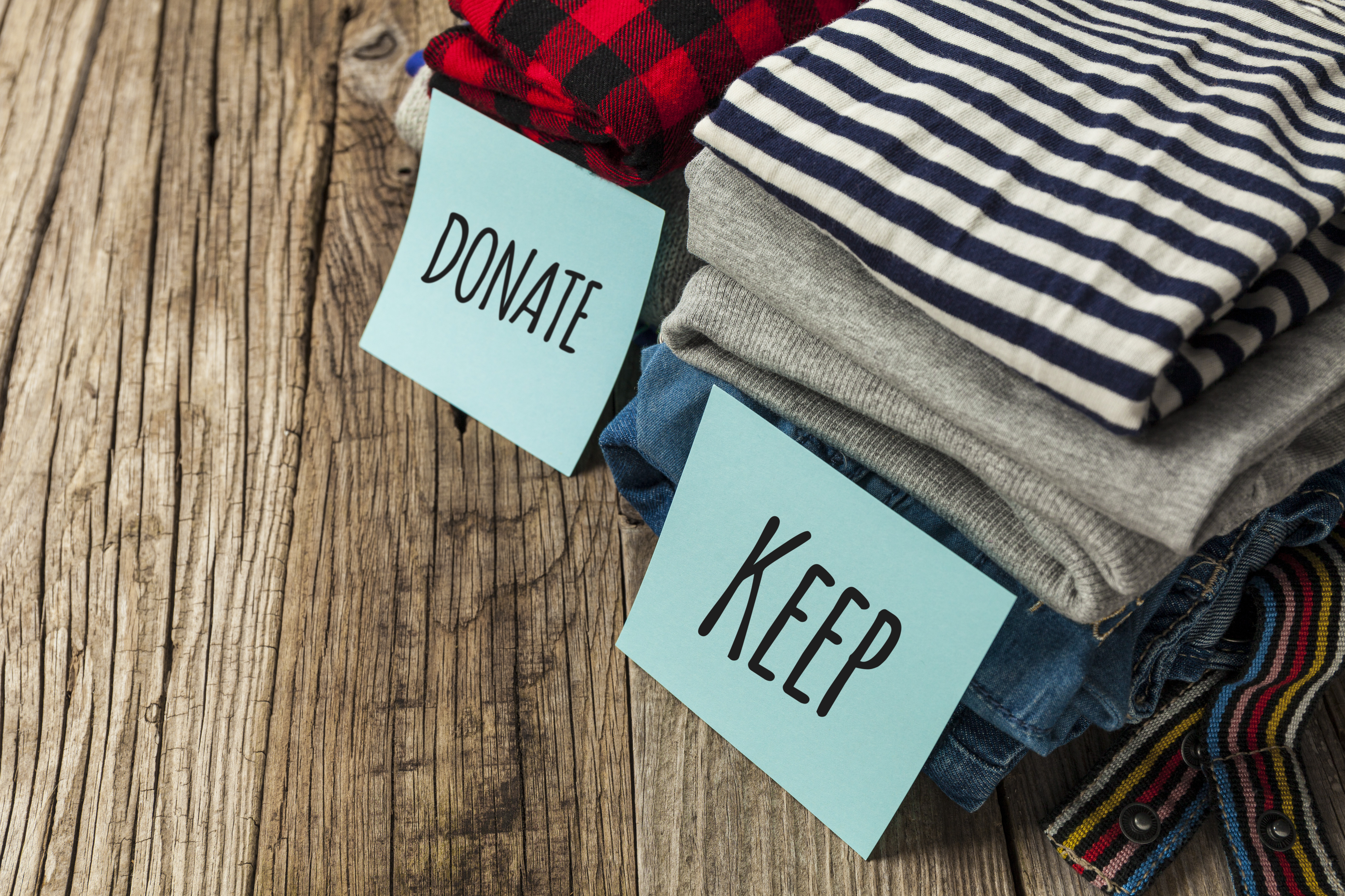 donate_keep_pile_declutter_and_donate_to_charity