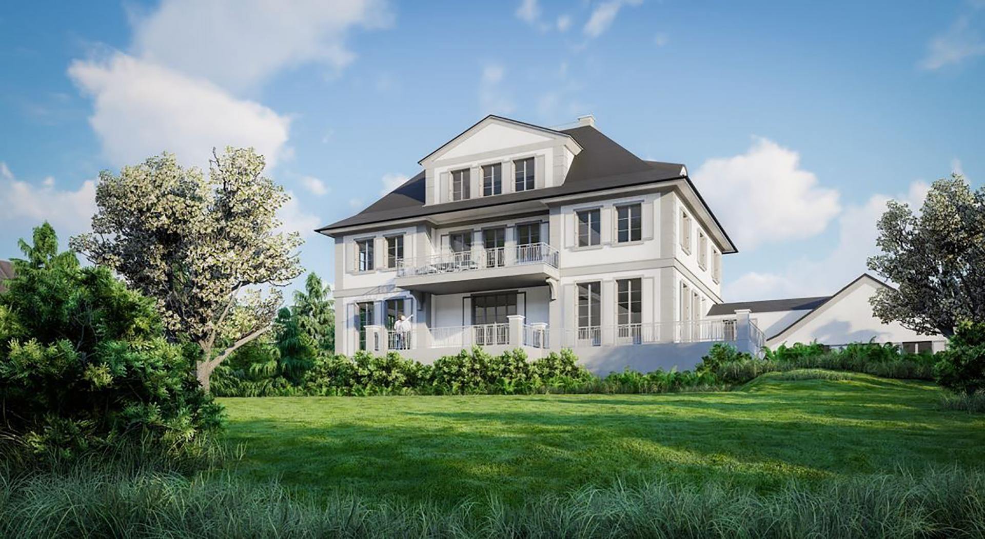 dream home renovation magnificent villa mansion in Germany