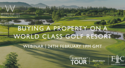 International Webinar Series: Focus on Golf Properties