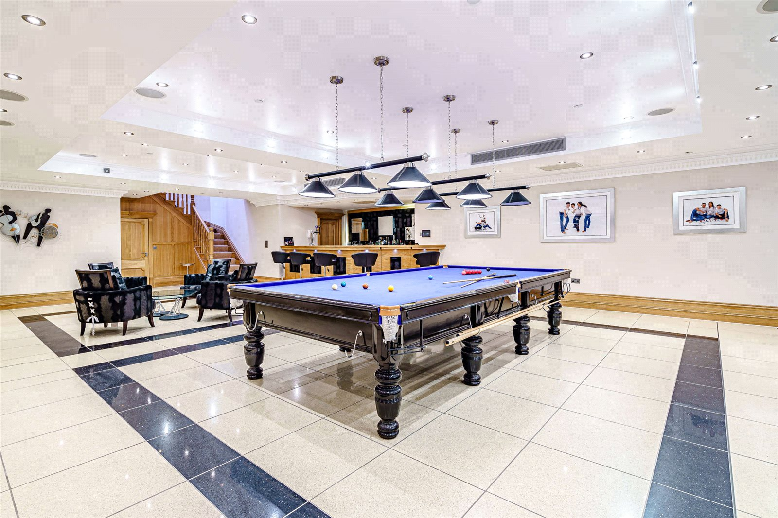 family entertainment home games room and bar