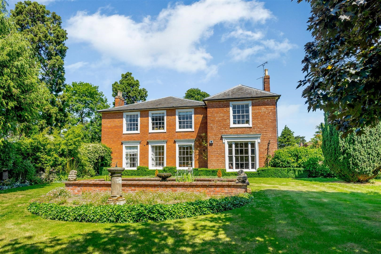Grade II listed converted vicarage traditional country home