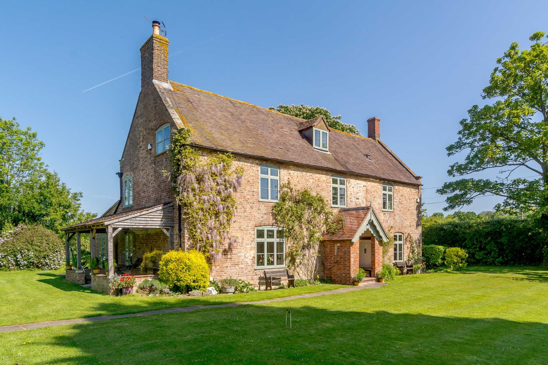 Grade II listed farmhouse 1700s character beautiful period country home