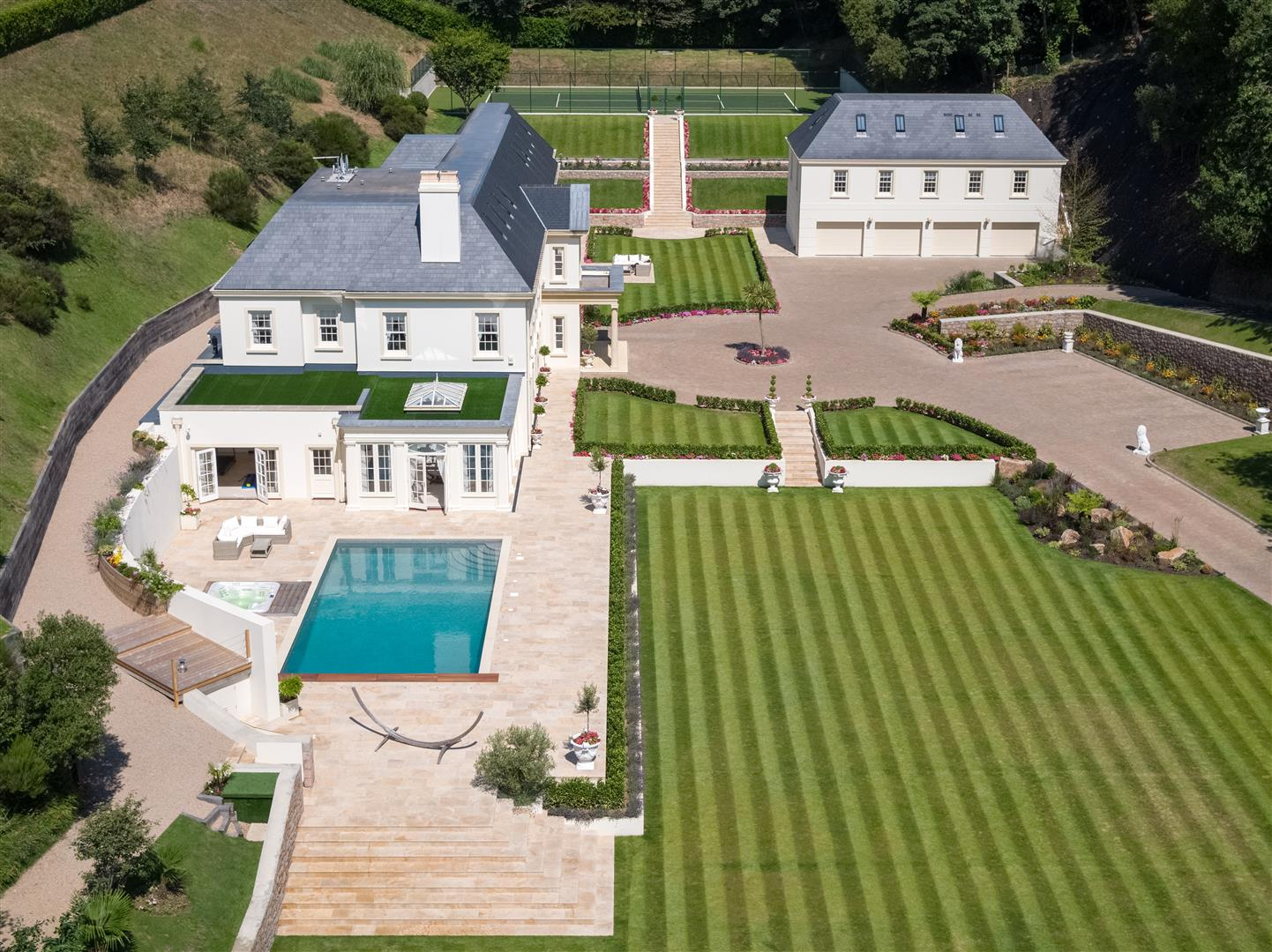 grand country dream home in St Helier Jersey fine and country