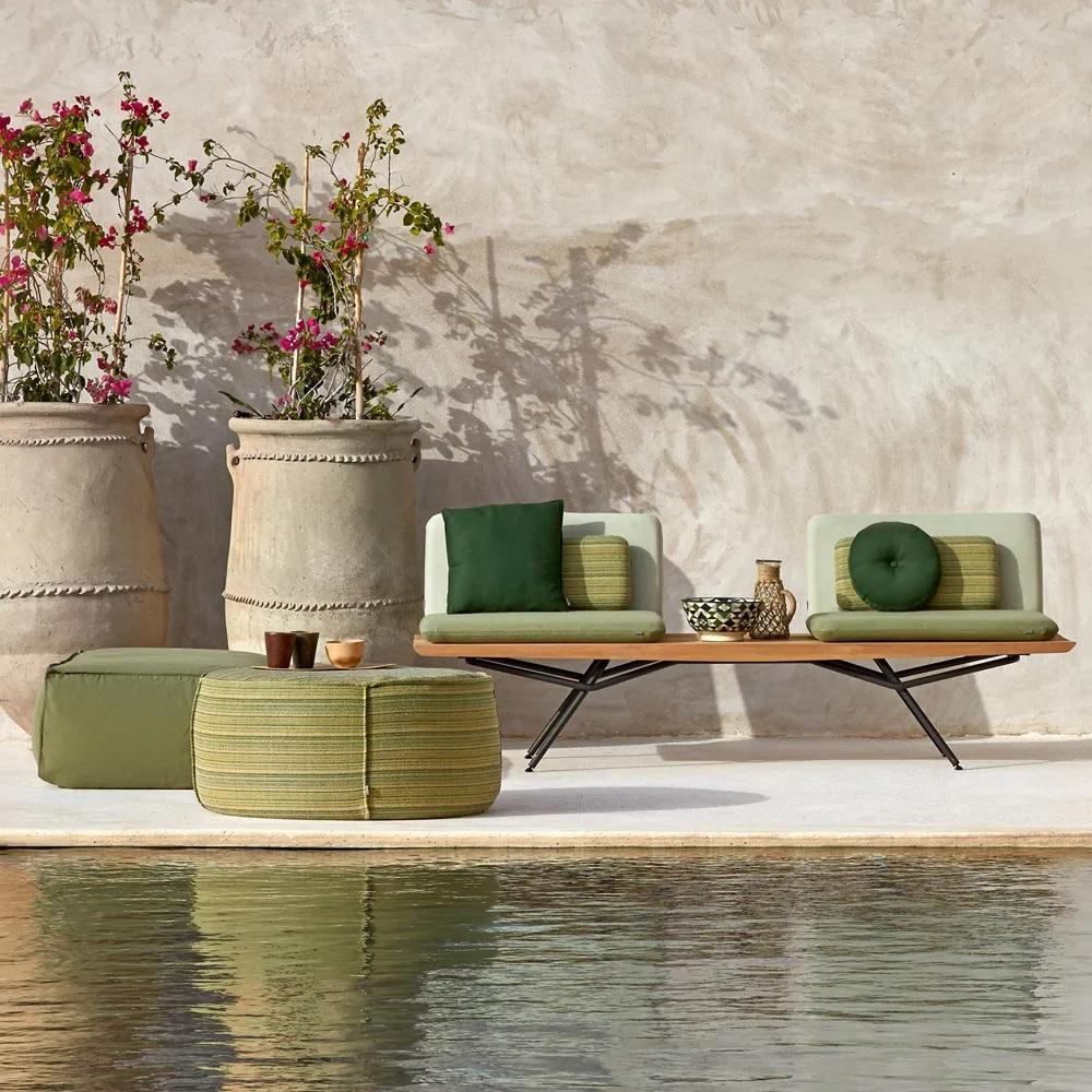 Japanese Art inspired contemporary luxury wooden garden furniture