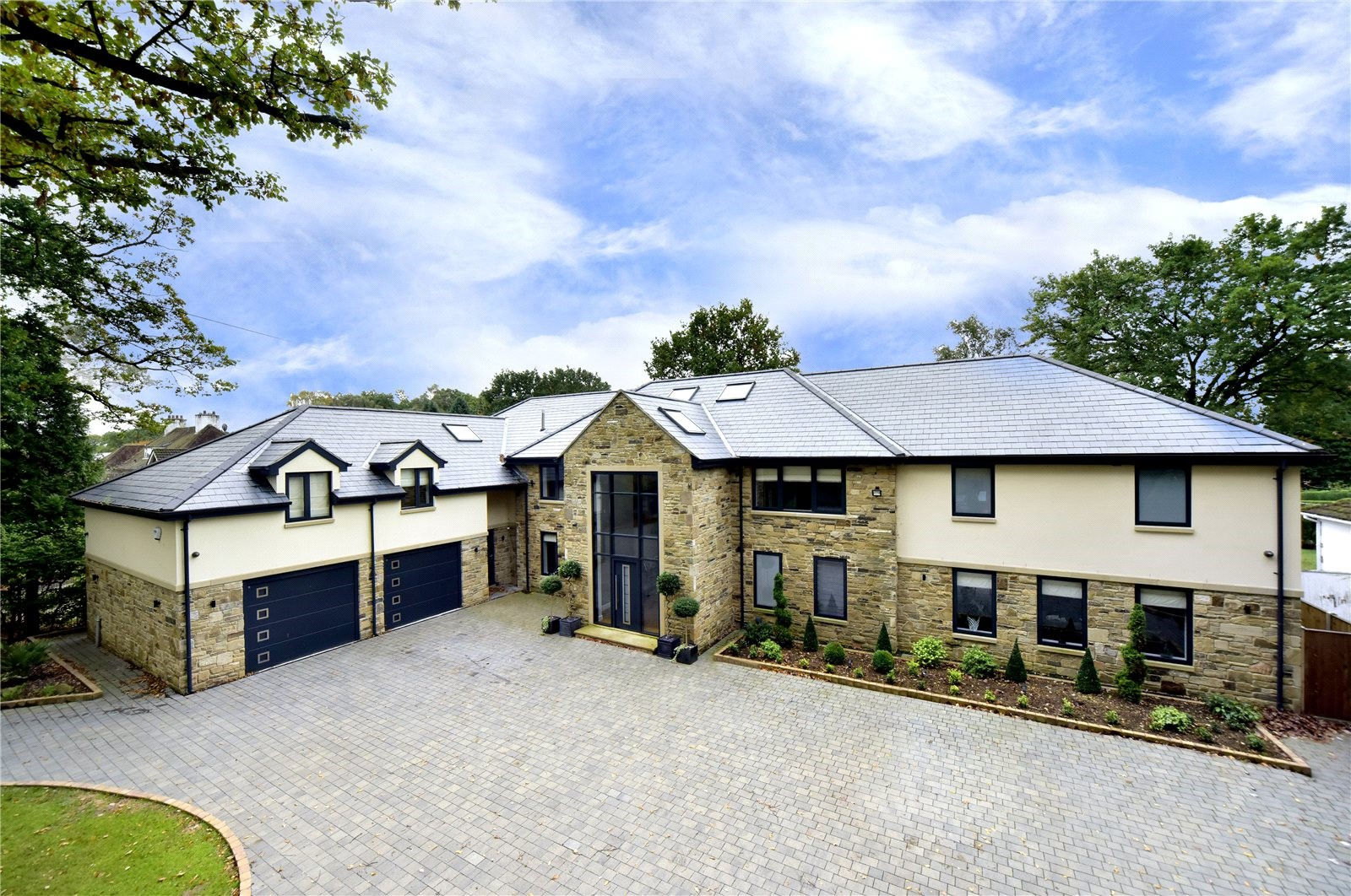 Leeds luxury contemporary mansion country house