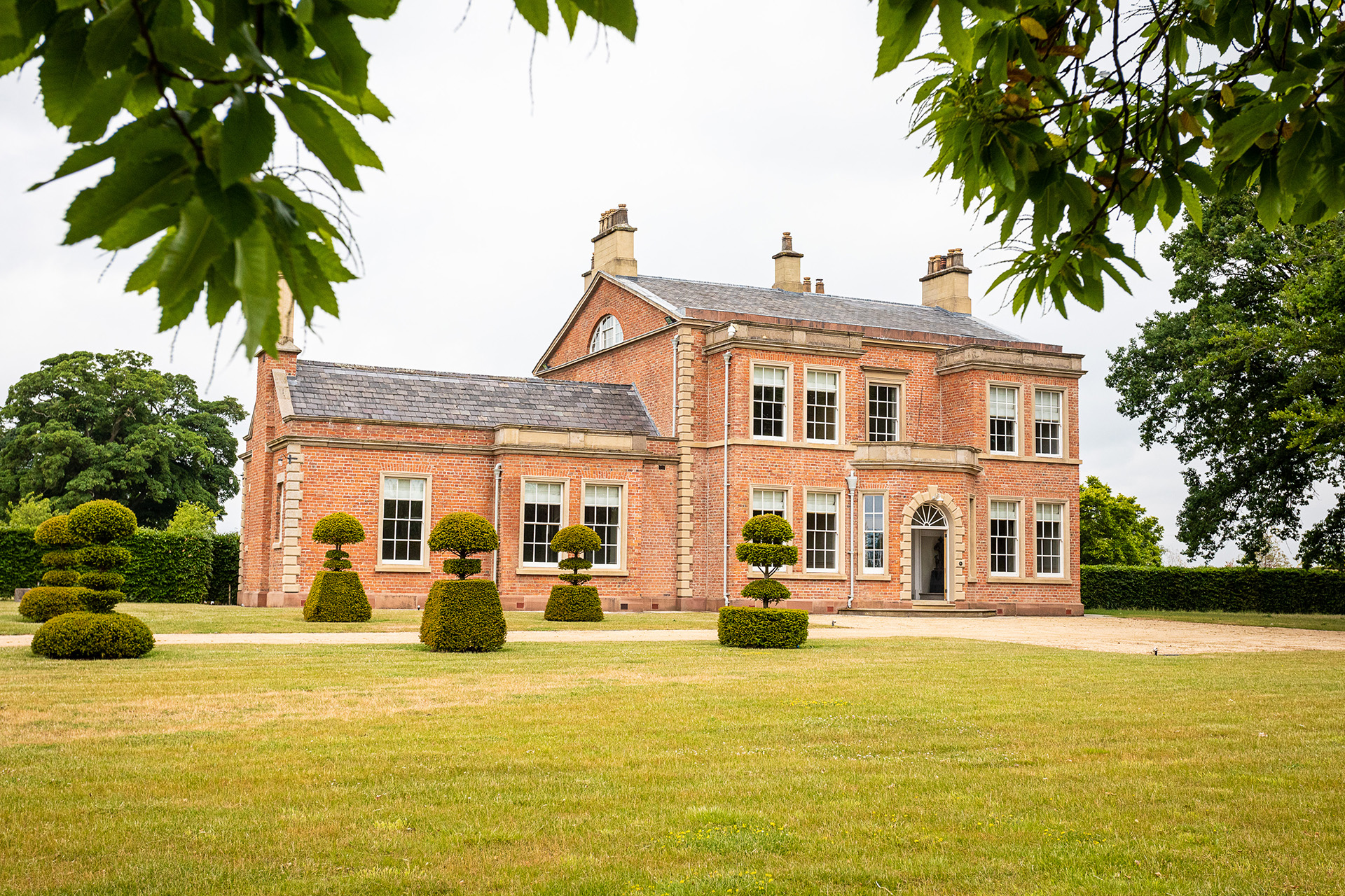 luxury English manor house mansion country estate countryside
