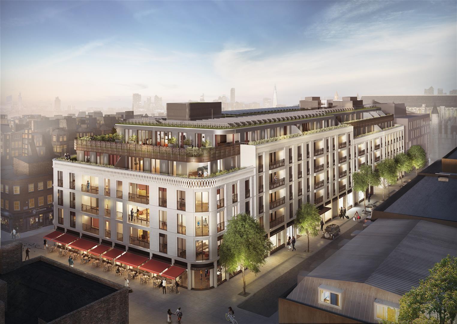 Marylebone luxury city London apartment development