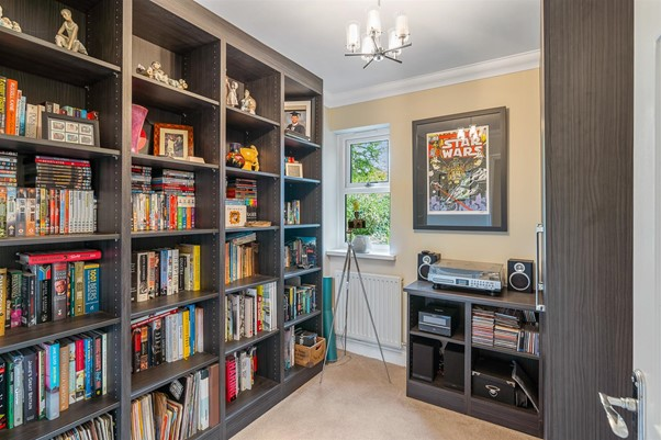 modern_contemporary_library_book_shelf_cool_grey_music_room