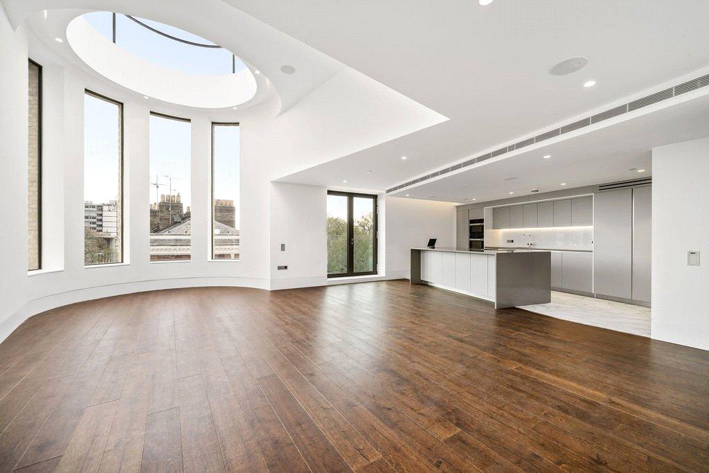 modern empty london apartment