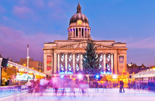 Homes near the UK's best Christmas markets