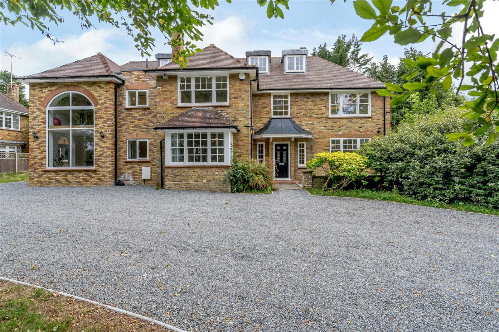 substantial executive style house in Chorleywood, Rickmansworth, Hertfordshire