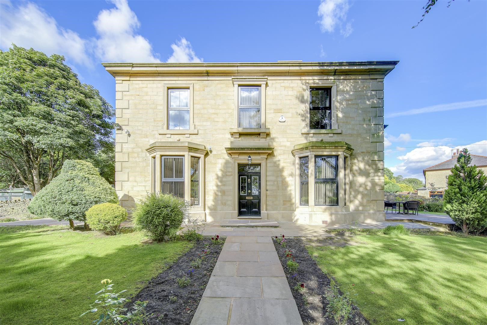 beautiful country stone house property in Lancashire