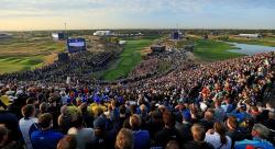 A front row seat at women's greatest golf competition, the Solheim Cup