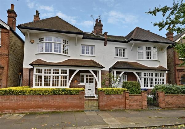 semi-detached period house near Belford Park Conservation Area West London