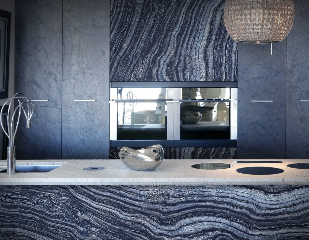 Silver-Wave-marble Kitchen Cullifords