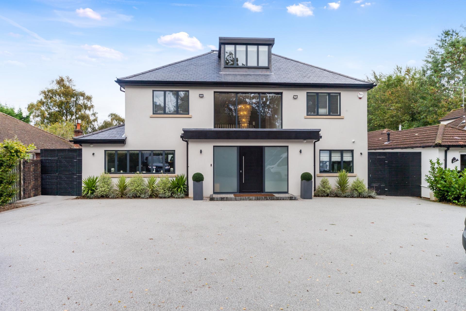 smart modern new built renovated house in UK