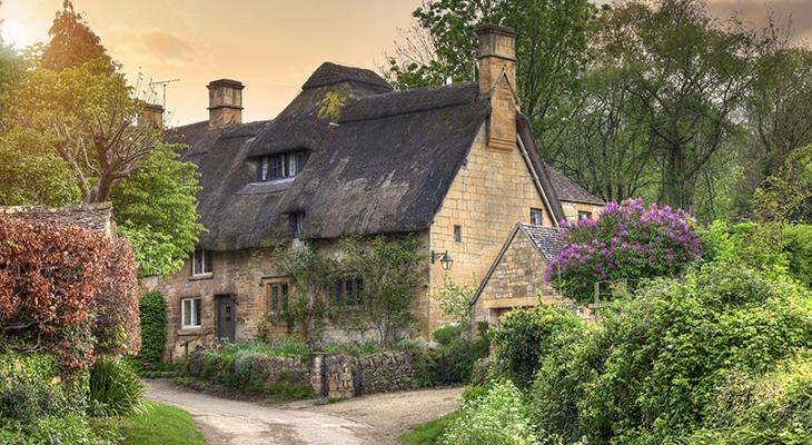 Britain's Prettiest Spring Villages