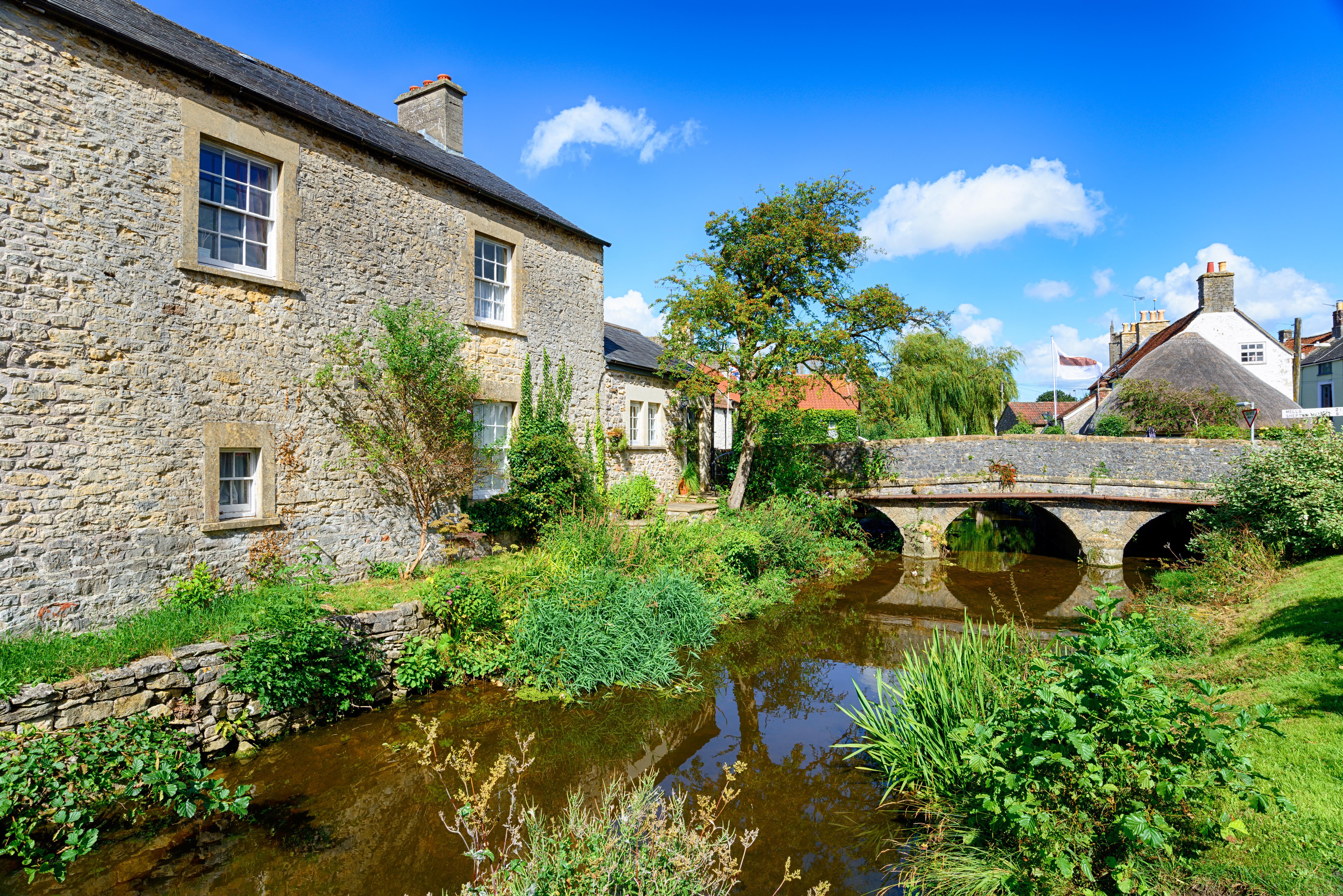 Nunney in Somerset