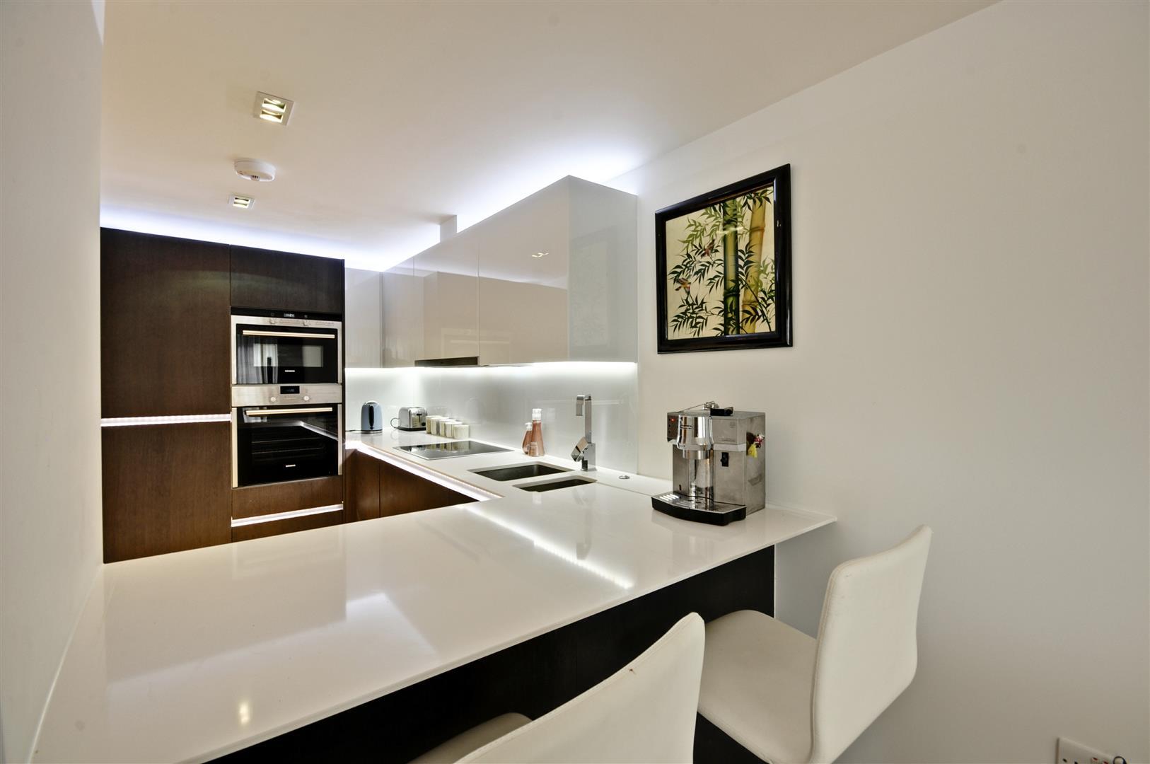 two bedroom luxury flat in waterside development in london