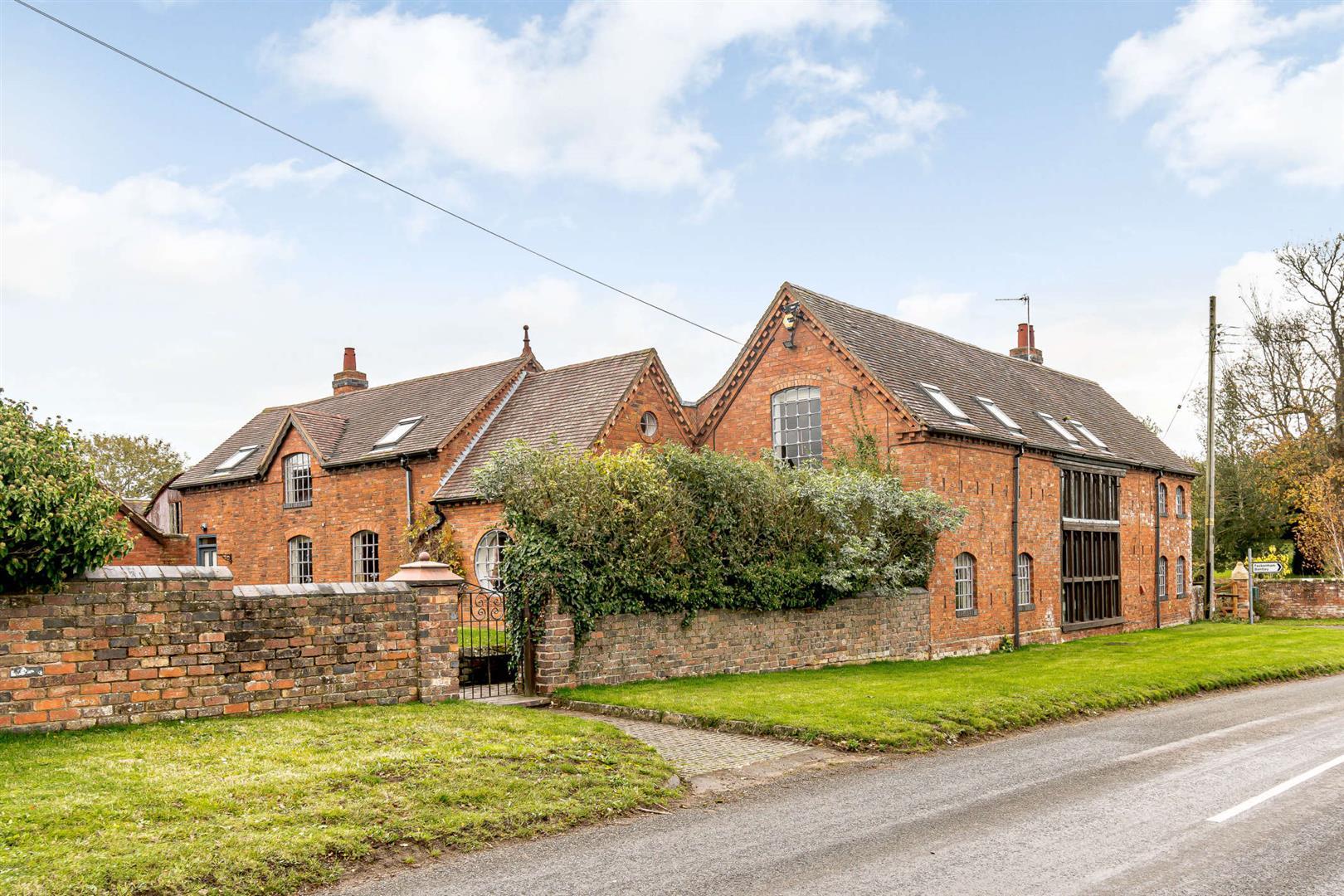 unique red brick English country traditional contemporary barn conversion