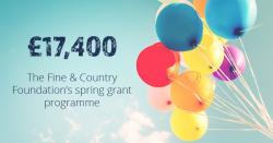 Grant programme returns: £17,400 awarded in spring 2019