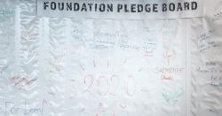 Foundation Pledges for 2020
