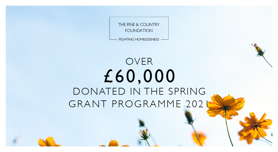 Over £60,000 donated in Spring Grant Programme!