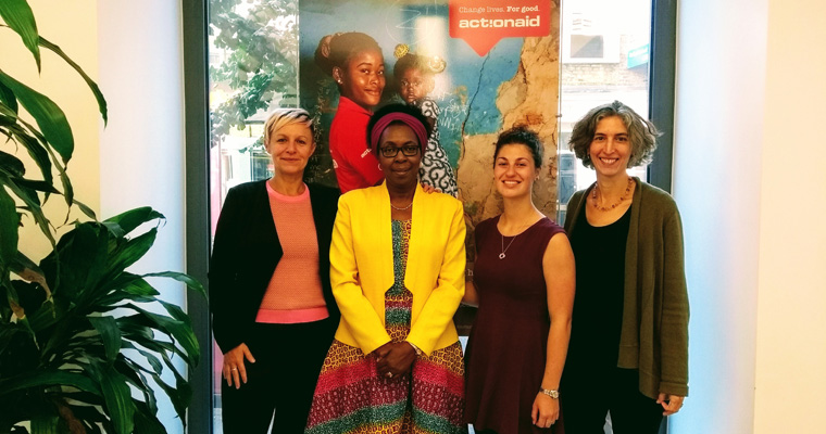 ActionAid Kenya lecture: Learning about our partner charities