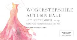Worcestershire Autumn Ball, 28th September