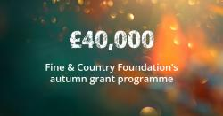 Grant Programme Donates £40,000 in Autumn 2019