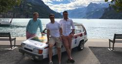 Highlights: Trio in a trike drive from Sheffield to Monte Carlo
