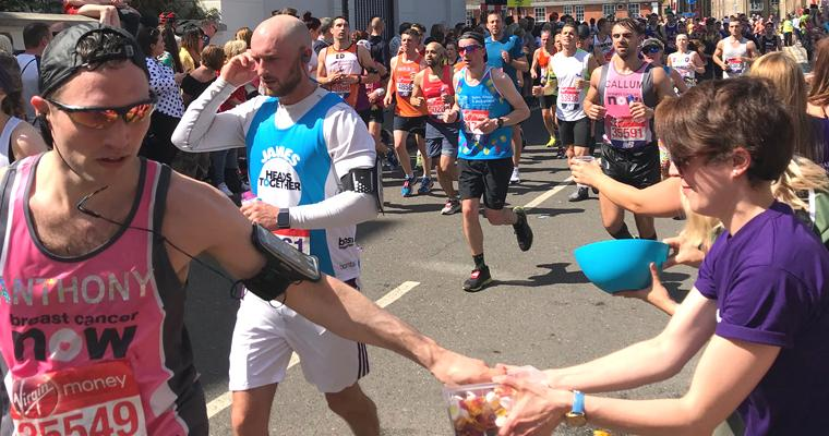 A marathon of fundraising by Fine & Country Canary Wharf