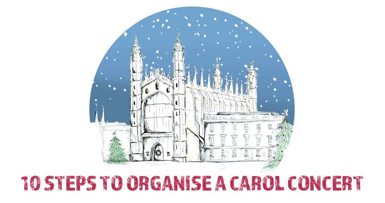 10 steps to organise a carol concert
