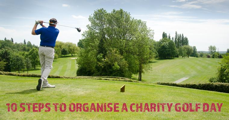 10 steps to organise a charity golf day