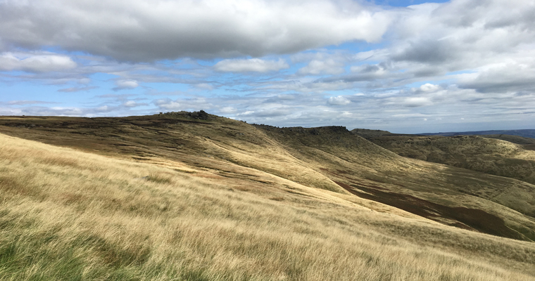 One foot in front of the other: Derbyshire Peak District